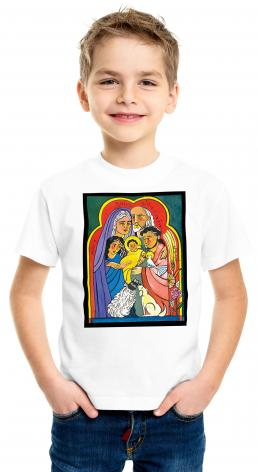 Youth T-shirt - Extended Holy Family by M. McGrath