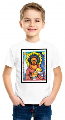 Youth T-shirt - St. Francis of Assisi by M. McGrath