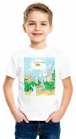 Youth T-shirt - Pope Francis: Philly Museum by M. McGrath