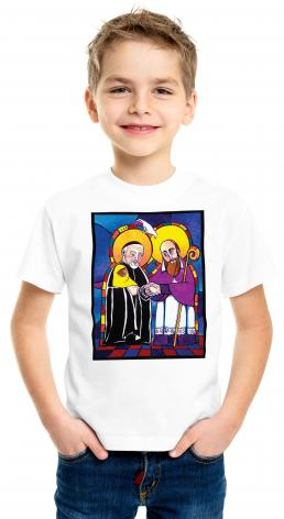 Youth T-shirt - Sts. Francis de Sales and Vincent de Paul by M. McGrath