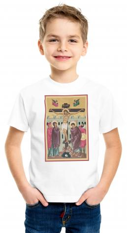Youth T-shirt - Crucifixion by R. Lentz