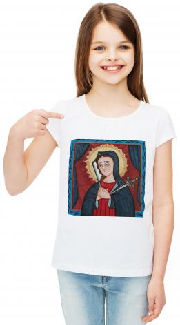 Youth T-shirt - Mater Dolorosa - Mother of Sorrows by A. Olivas