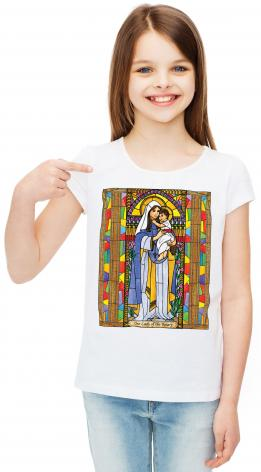 Youth T-shirt - Our Lady of the Rosary by B. Nippert