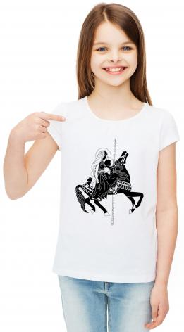 Youth T-shirt - Carousel Madonna by D. Paulos