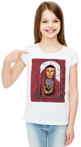 Youth T-shirt - St. Mary Magdalene by L. Glanzman