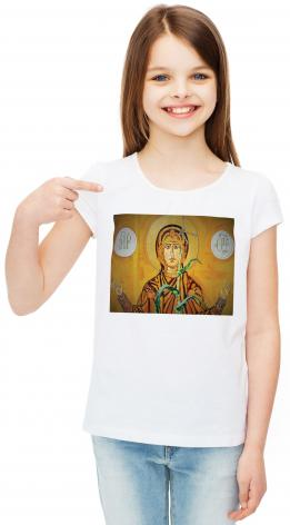 Youth T-shirt - Our Lady of the Harvest by L. Williams