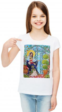 Youth T-shirt - Mary, Gate of Heaven by M. McGrath
