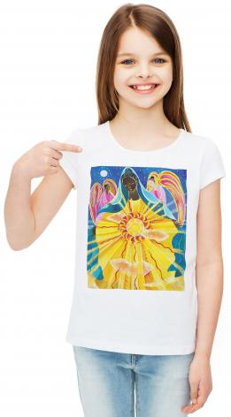 Youth T-shirt - Mary, Queen of the Universe by M. McGrath