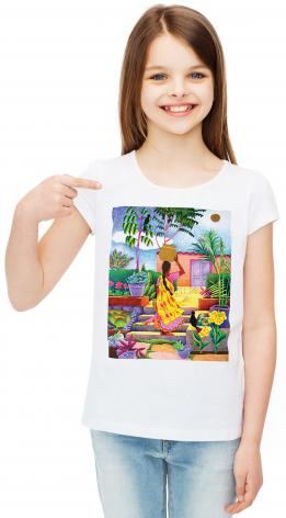 Youth T-shirt - Woman at the Well by M. McGrath