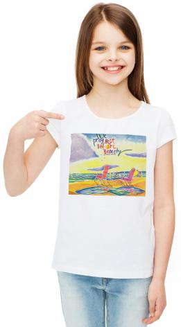 Youth T-shirt - We Pray Best Before Beauty by M. McGrath