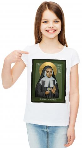 Youth T-shirt - St. Bernadette of Lourdes by R. Lentz
