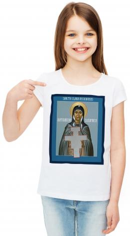 Youth T-shirt - St. Clare of Assisi: Seraphic Matriarch by R. Lentz