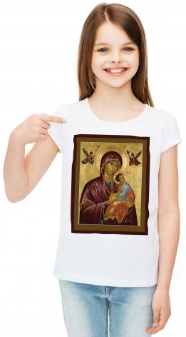 Youth T-shirt - Our Lady of Perpetual Help by R. Lentz