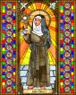 St. Clare of Assisi by Brenda Nippert