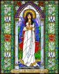 Wood Plaque - Our Lady of the Immaculate Conception by B. Nippert