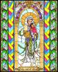 Wood Plaque - Our Lady of China by B. Nippert